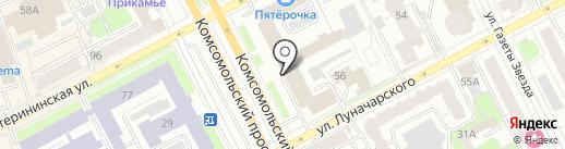 Банкротовед на карте Перми