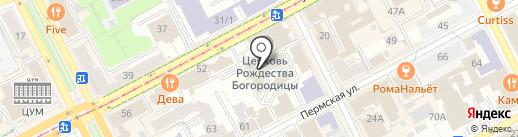Респект на карте Перми