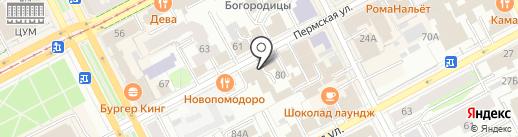 Пермская галерея авторской куклы на карте Перми