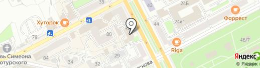 Zatochkaperm на карте Перми