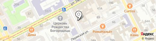 ПРОМСТРОЙГАЗ, АНО ДПО на карте Перми