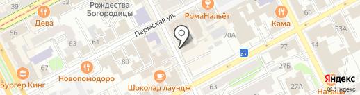Рекорд на карте Перми
