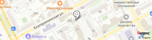 Медика Маркет на карте Перми