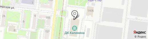Каскад на карте Перми