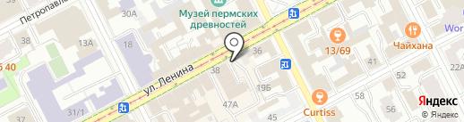 MASTER FOOD на карте Перми