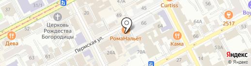 Fresh Market на карте Перми