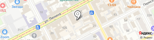 НЕСКРОМНЫЙ BAR на карте Перми