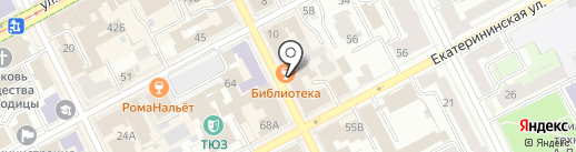 УГЛИ на карте Перми