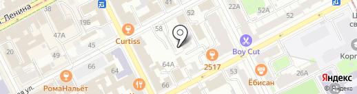 Кадастровый инженер Авдеев И.Ю. на карте Перми