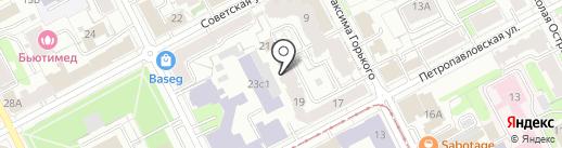 Кама, ТСЖ на карте Перми