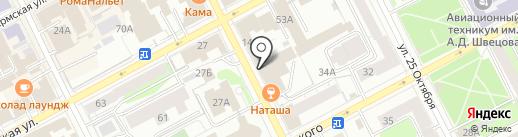 Bar resto на карте Перми