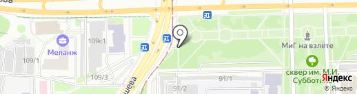 Продуктовый мини-маркет на карте Перми