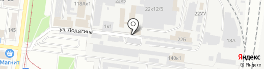 Ансер на карте Перми
