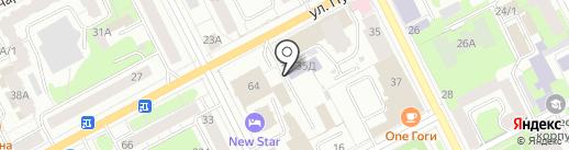 Западно-Уральский институт экономики и права на карте Перми