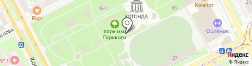 Bonjour на карте Перми