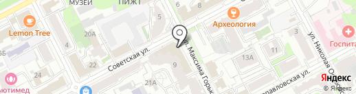 МАРТИНЕКС ПЕРМЬ на карте Перми