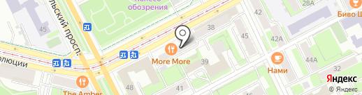 Аксон Плюс на карте Перми
