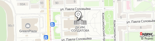 ОРФЕЙ на карте Перми
