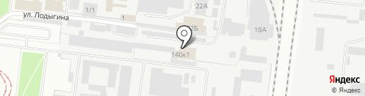 Кичев Д.В. на карте Перми