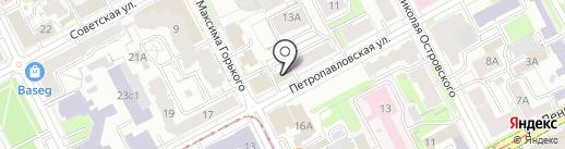 Торгопт на карте Перми