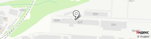 Резинпол на карте Перми