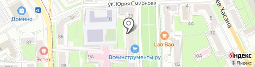 ТАЙМЕР на карте Перми