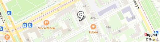 АвтоГруп на карте Перми