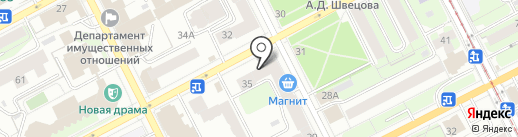 Пермский центр отдыха и туризма на карте Перми
