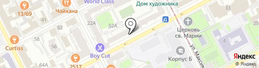 Строительные системы на карте Перми
