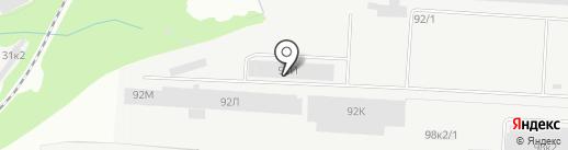 Харлис на карте Перми