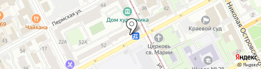 Holst art gallery на карте Перми