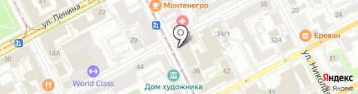 ФРИЭМ на карте Перми
