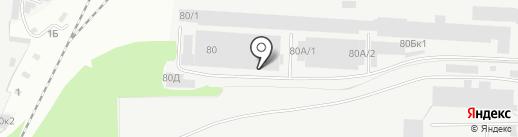 ТЕМП на карте Перми