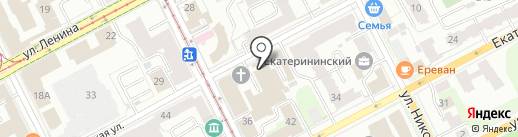 Премиум на карте Перми