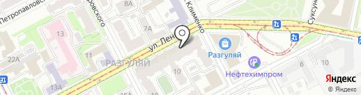 МАСТЕРА на карте Перми