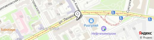 Магазин купальников на карте Перми