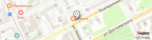 Самарский здоровяк на карте Перми
