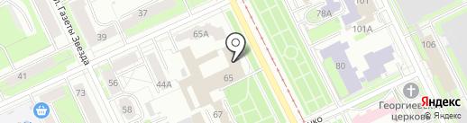 Пермский театр кукол на карте Перми