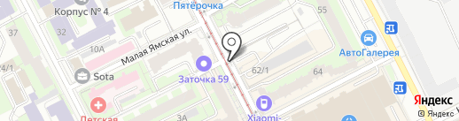 Кудымкарские колбасы на карте Перми