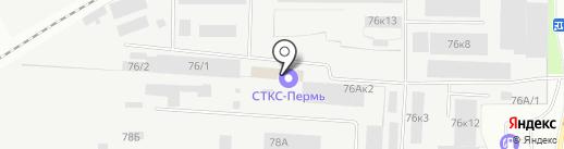Скай-Строй на карте Перми