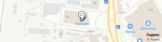 Дверной мастер на карте Перми