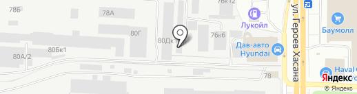 АнТек на карте Перми