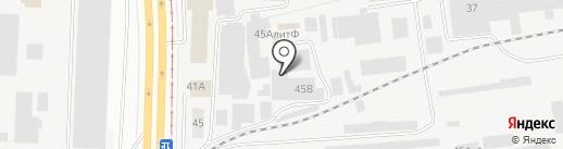 Спутник на карте Перми