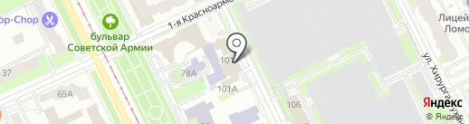 БИЗНЕС УСПЕХ на карте Перми