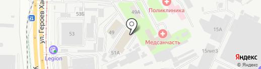 ПермьСтройПрокат на карте Перми