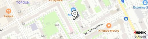 Каскад Плюс на карте Перми