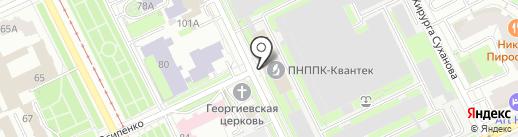 Банкомат, Банк ВТБ 24, ПАО на карте Перми