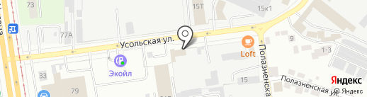 ПРОКС на карте Перми