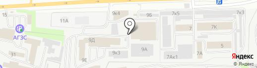 Урал-ТЛК на карте Перми