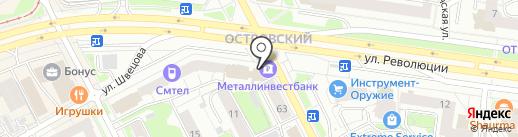 МАРС на карте Перми